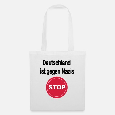 Anti Nazis Germany against Nazis. Anti Nazi design - Tote Bag