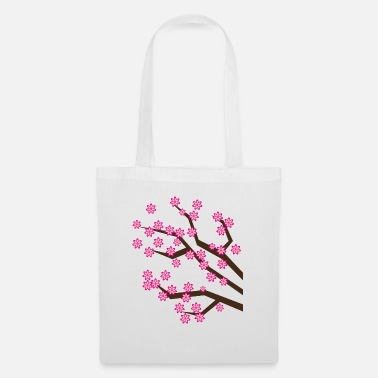 Japanese Cherry Blossoms - Tote Bag