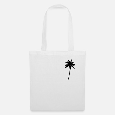 Palm Trees Palm Tree - Palm Tree Palm Tree Black - Tote Bag