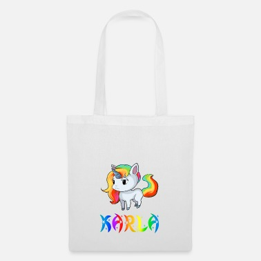 Karla Karla unicorn - Tote Bag