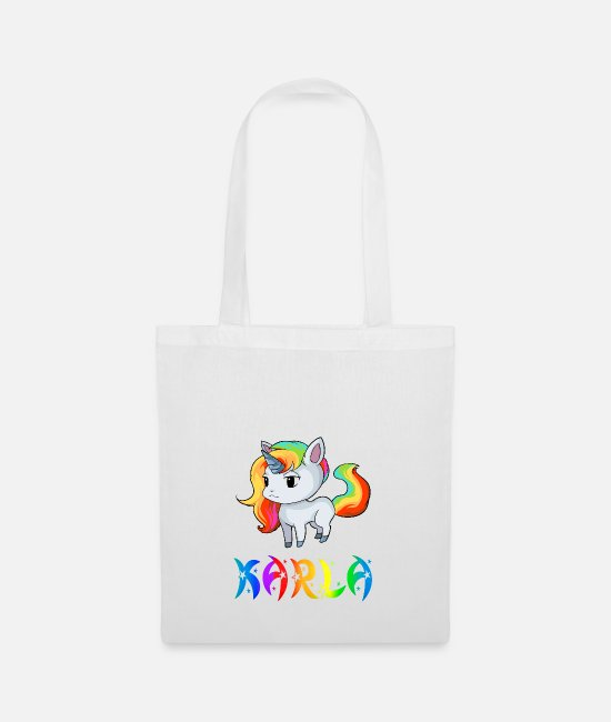 Karla Bags & Backpacks - Karla unicorn - Tote Bag white