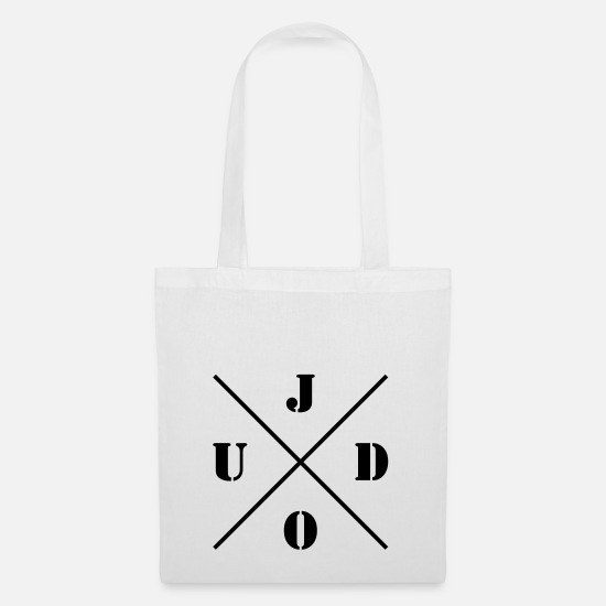 Judo Bags & Backpacks - Judo logo - Tote Bag white