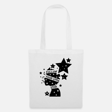 Cool Art Follow your own star c2 - Tote Bag
