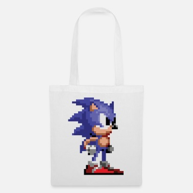Sonic The Hedgehog 16-bit Pose - Stoffbeutel