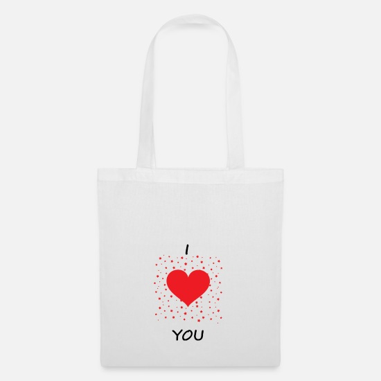 Love Bags & Backpacks - Love affection gift - Tote Bag white