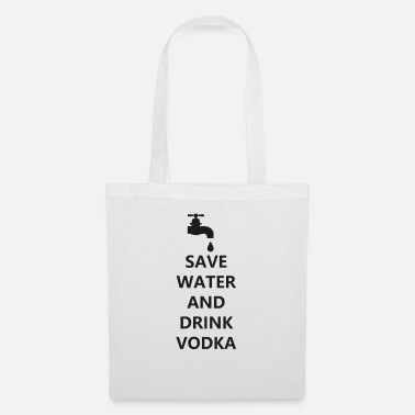 Bar Pub Water vodka funny drunk cocktail bar pub - Tote Bag