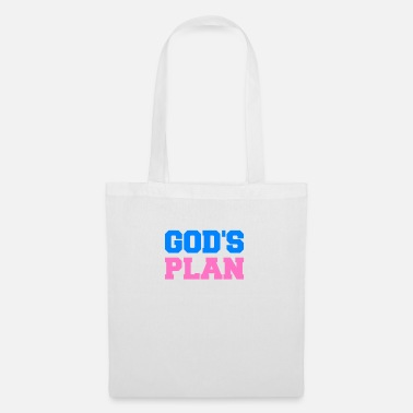Fate God's plan jesus gift bible belief religion - Tote Bag
