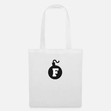 Curse Words Bomb fuck word language swear curse word funny - Tote Bag