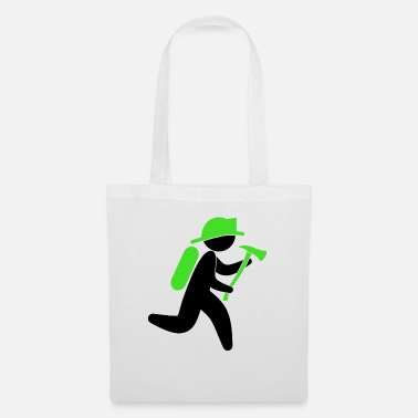 Property A fireman with an ax - Tote Bag