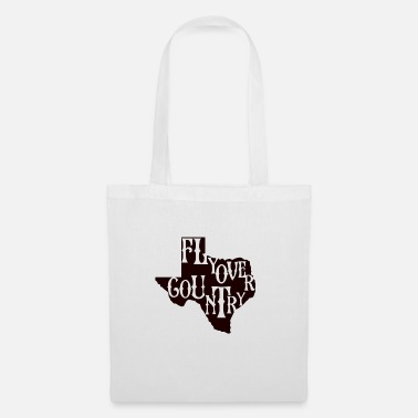 Countrymusic flyover country black - Tote Bag