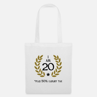 Birthday 30 - 20 plus tax - Tote Bag
