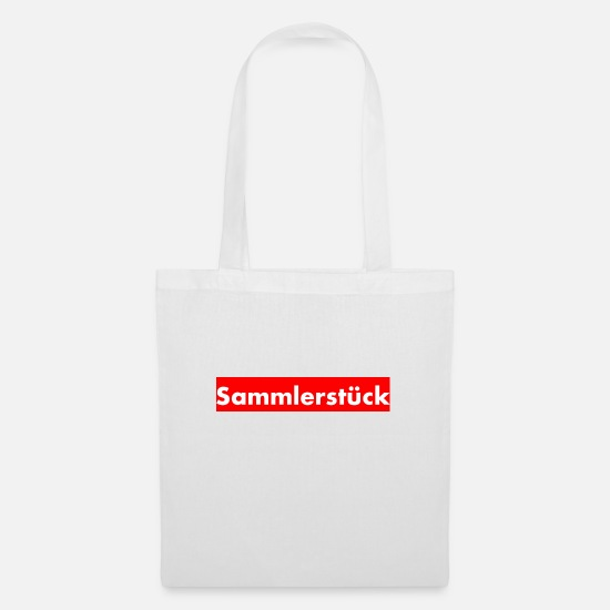 Humour Bags & Backpacks - Collectible - Tote Bag white
