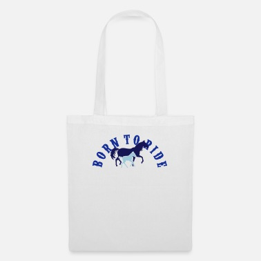 Maneggio Born To Ride Bow - Borsa di stoffa