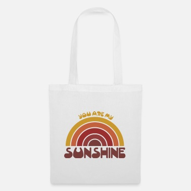 Movement You are my sunshine Vintage Geschenk - Stoffbeutel