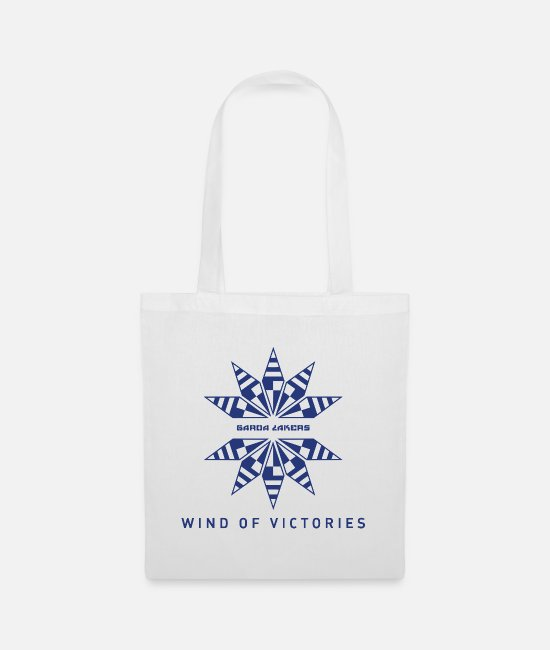 Sail Boat Bags & Backpacks - Garda Lakers Logo Wind of Victories - Tote Bag white