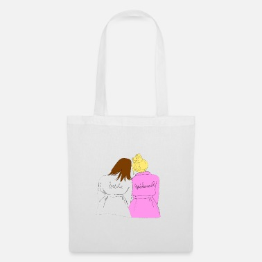 Bridesmaid Bride + Bridesmaid - Tote Bag