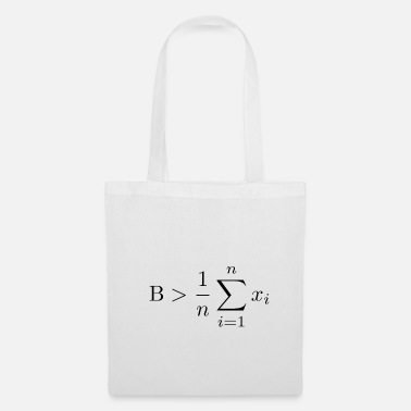 Greater Be greater than the average - Tote Bag