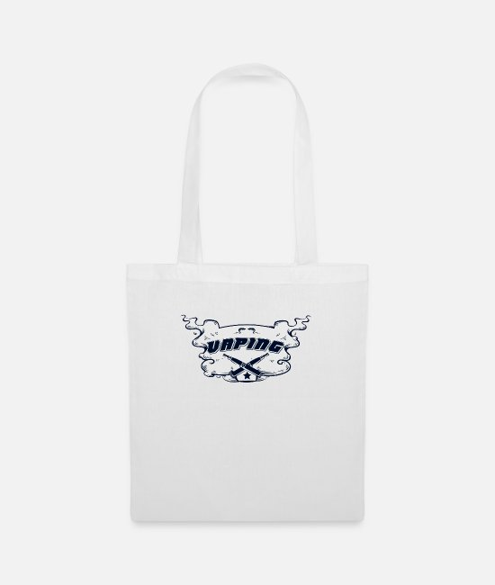 Hipster Bags & Backpacks - Vaping cloud - Tote Bag white