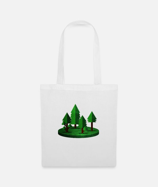 Forest Bags & Backpacks - Forest - Tote Bag white