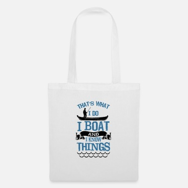 Boat Boating, Boating, Boat, Gift - Tote Bag