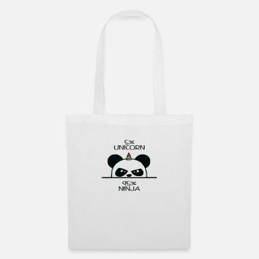 Unicorn Panda Ninja - Tote Bag