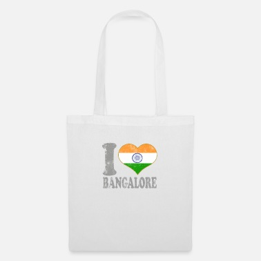 Kids I Love Bangalore India Indian Flag Pride - Tote Bag
