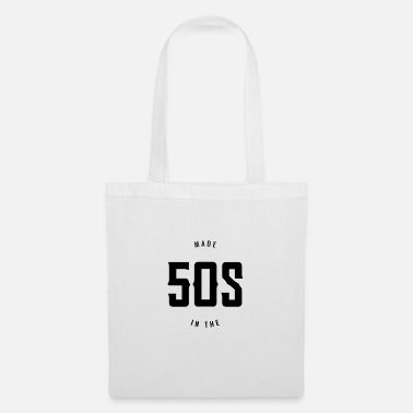 50s Made in the 50s - Born in the 50s. - Tote Bag