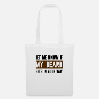 Couple Let Me Know If My Beard Gets In Your Way - Tote Bag