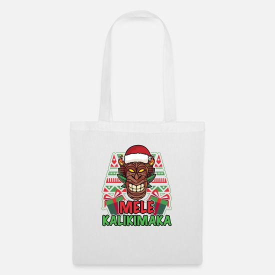 Aloha Bags & Backpacks - Christmas Design for Xmas Lovers - Tote Bag white