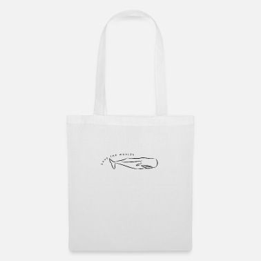 Save The Whales Whale - Save the whales - Tote Bag