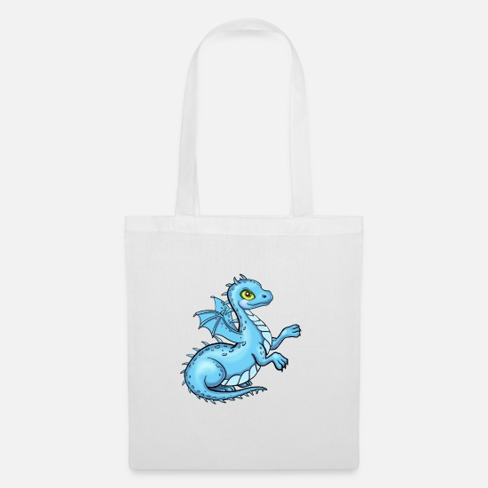Birthday Bags & Backpacks - Little Dragon - Tote Bag white