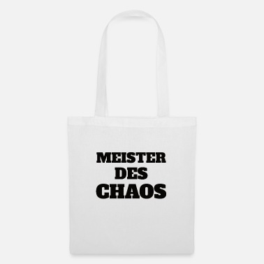 Chaos Meister der Chaos - Stoffbeutel