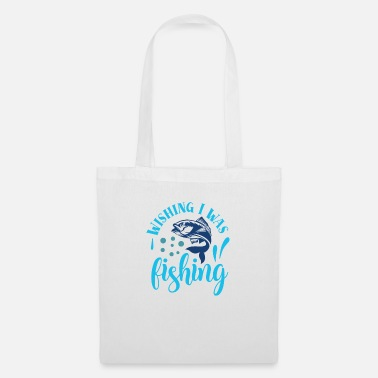 North Sea Wishing I was fishing - Tote Bag