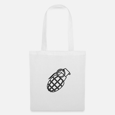 Grenade Uzi, pistol, weapon, weapons, machine fabric - Tote Bag