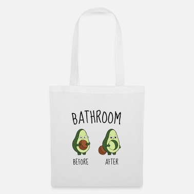 Wc AVOCADO - Borsa di stoffa