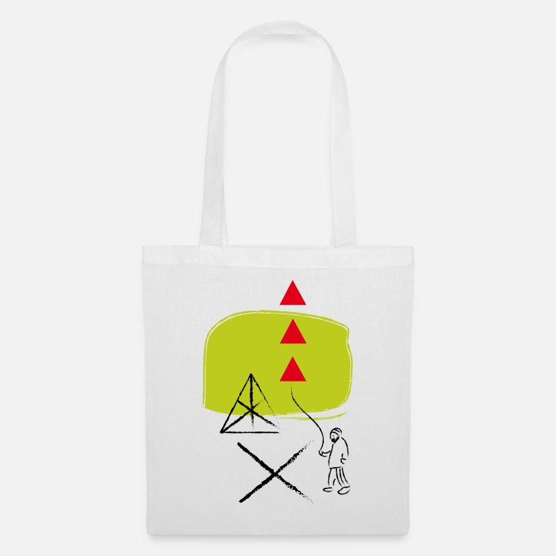 Cool Bags & Backpacks - hipster - Tote Bag white