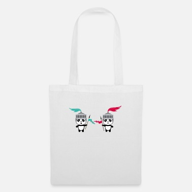 Wild Animal Parks Cutest Panda Knights S7y2h - Tote Bag