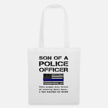 Office Proud Son Of A Police Officer Policeman Child - Tote Bag