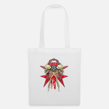 Rocker Death Metal Heavy Metal Skull Skeleton Gift - Tote Bag