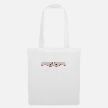 Fist Fist to fist - Tote Bag