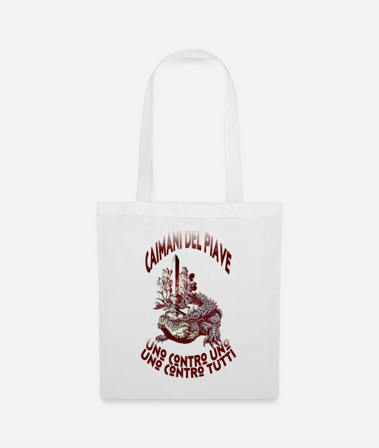 1918 Bags & Backpacks - Caimani del Piave - Tote Bag white