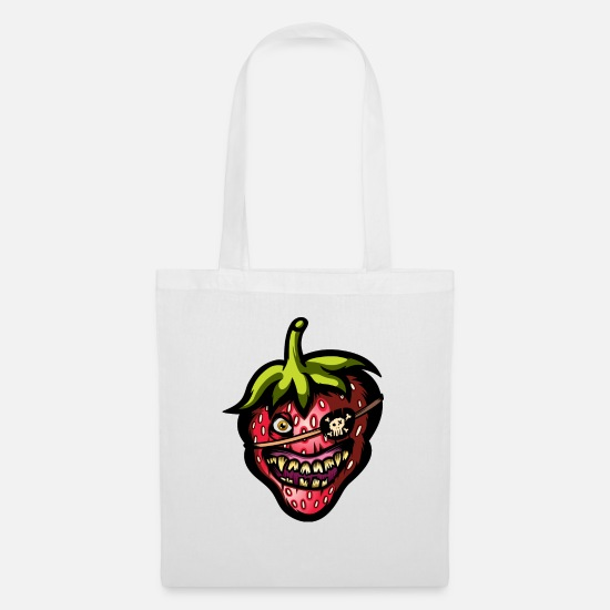 Forest Bags & Backpacks - Wild Strawberry - Tote Bag white
