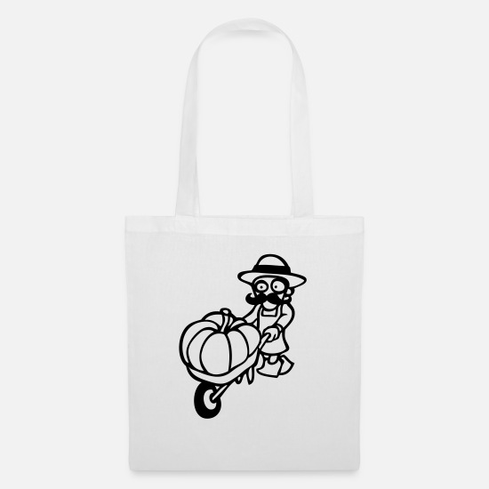 Nature Bags & Backpacks - gardener - Tote Bag white