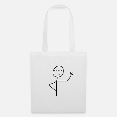 Stick Man Hi - Tote Bag