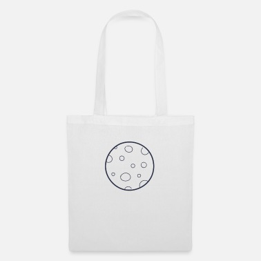 Celestial Bodies Moon space celestial body - Tote Bag