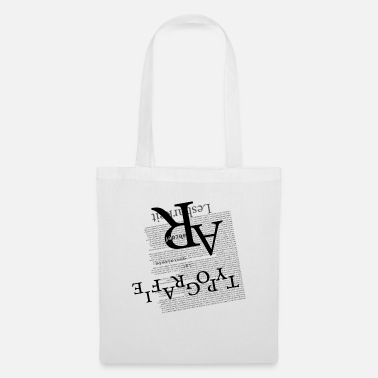 Typography & typography - Tote Bag