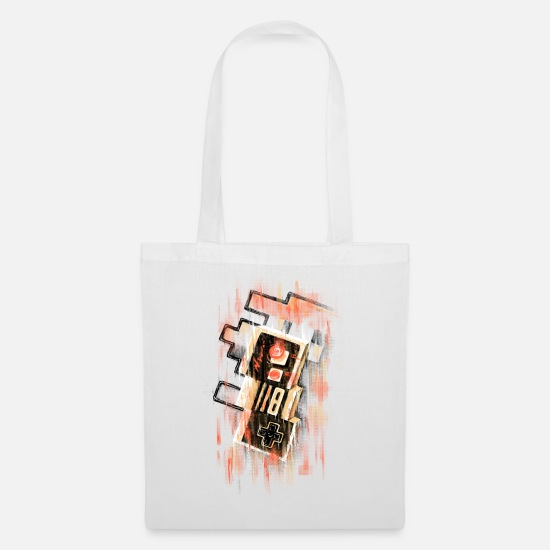 Geek Bags & Backpacks - Blurry NES - Tote Bag white