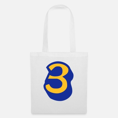 Ice ★Cool Number Three 3-Best Jersey Uniform Number★ - Tote Bag