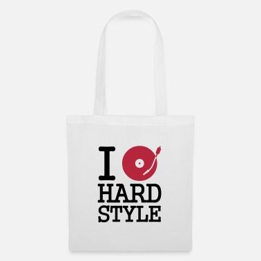 Dj I dj / play / listen to hardstyle - Tote Bag