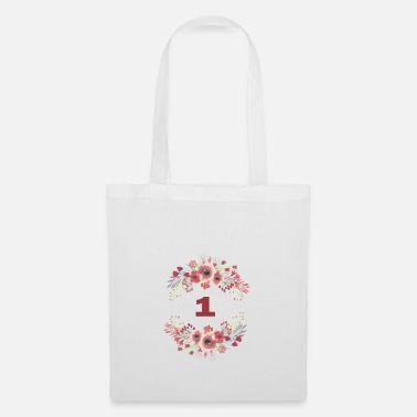 1st 1st birthday - Tote Bag